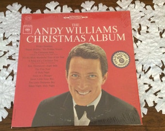 """The Andy Williams Christmas Album 1966 Reissue First Andy Williams Christmas Album  Features """"Its the Most Wonderful Time of The Year"""""""