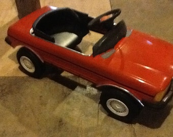 Pedal Car Mercedes Battery Operated Vintage Young Master