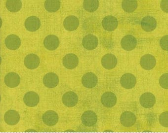 Grunge Hits the Spot - Dots in Decadent - Basic Grey for Moda - 30149-12 - 1/2 yard