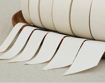 10 Yards Pure cotton Tape in White- 0.7cm/1cm/1.5cm/2cm wide (T355)