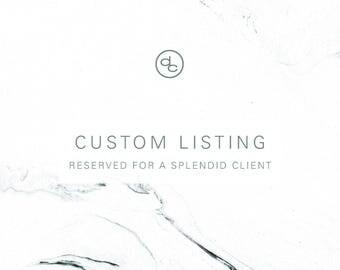 Custom Listing | allie williams