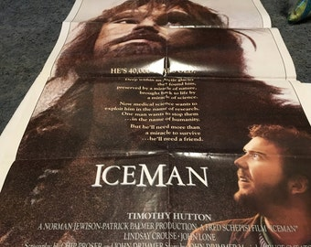 iceman movie poster 27 by 40