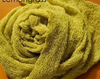 BIG SALE Lemongrass Newborn Stretch Wraps For Photographers - Liquidation