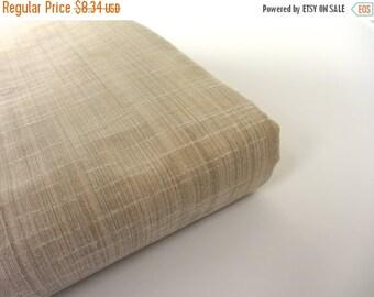 ON SALE Creme beige Indian Khadi  silk fabric nr 401 REMNANT