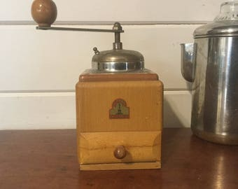 Vintage German Coffee Grinder,Armin Trosser Coffee Grinder,Germany