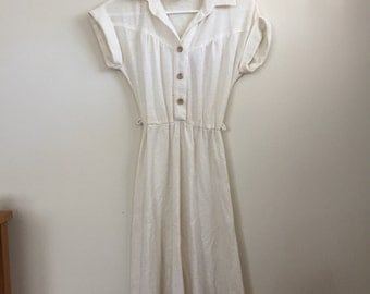 1970s Western Style woven dress by Byer Too!