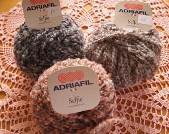 Adriafil Selfie bouclé yarn - SALE - only 3.99 USD