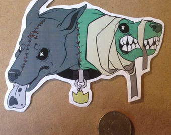 Jackal & Hyde LARGE Sticker