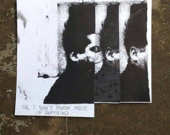 Henry, Eraserhead - Collage, Hand Screen Print, Original Artwork