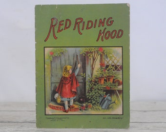 Antique Red Riding Hood Soft cover Book Charles Graham & Co New York Little Kittens Series