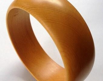 Ancient Alaska Yellow Cedar Bangle Bracelet
