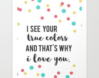 trolls inspirational poppy quote...  room decor.. true colors.. branch. digital file