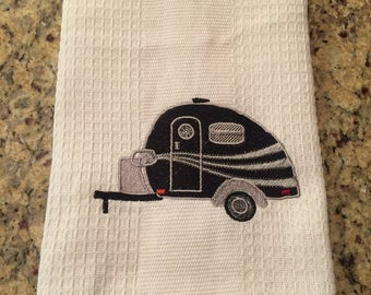 Teardrop Camper Towel