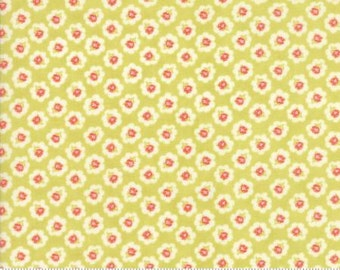 Coney Island Cotton Blossoms Limesicle by Fig Tree Quilts - Moda - 1 Yard