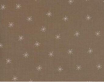 Gingiber Snowy Stars Cocoa 48213 29- 1 yard