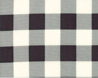 Hometown Christmas Check Charcoal 5667 14  by Sweetwater for Moda