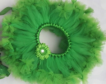 Green Toddler Tutu - Lucky Irish Tutu - Green Petti - Irish Tutu - Girls Green Petti - Baby Tutu- Petti - Newborn Tutu - Birthday Tutu -Tutu