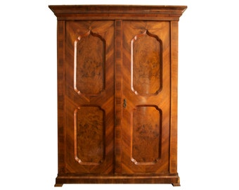 wardrobe armoire 19th century biedermeier walnut antique furniture antique armoires antique wardrobes english