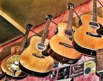 Guitars Photo Print