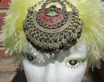 Vintage Kuchi Head Pendant