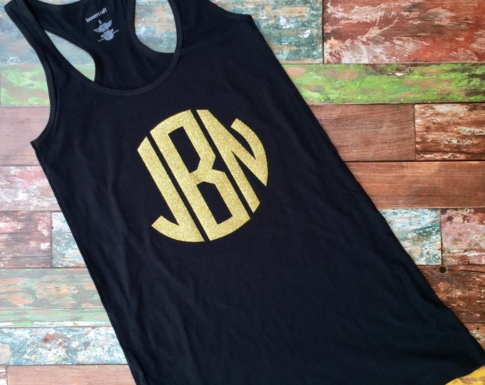 Monogrammed Swimsuit coverup, Beach Coverup, Tank dress, Monogrammed Tank Dress