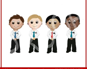 LDS Missionary Clipart: Instant Download