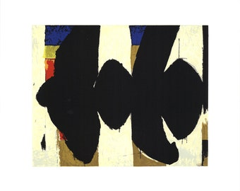 Robert Motherwell-Elegy to the Spanish Republic No. 34-1991 Serigraph