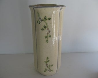 CERAMIC VASE/FLOWER Vase/Vintage Pottery Vase/Home Decor Vases/Tall Ceramic Flower Vase/Collectable Pottery/Vintage Homewares/Ceramic Vases