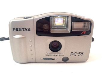 Pentax PC-55 35mm Point and Shoot Camera