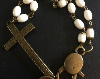 Cross My Heart Bracelet