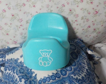 Doll Blue Potty Chair with Bear on it/Not Included in Coupon Sale/ iof:)s