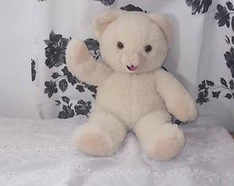 Snuggles Bear Teddy Bear, Teddy Bear, Vintage Teddy Bear, Stuffed Bear, Plushie Bear, Country Decor, Vintage Stuffed Animals