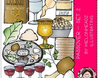 Passover clip art - Part 2 - COMBO PACK