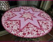 Quilted Table Topper Quilt Valentine Sweetheart 678