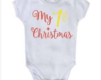 Infant Onsie My 1st Christmas