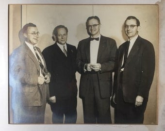 General Electric 25 Years Of Service photo with name plaque