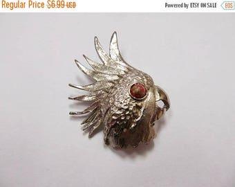 On Sale Vintage Parrot Head Pin Item K # 2776