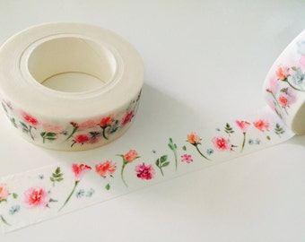 Delicate Roses Washi Tape