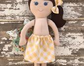 Custom handmade doll for Aj