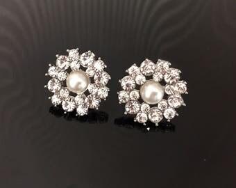 Bridal stud earrings - Bridal earrings - Bridesmaid earrings - Wedding Jewellery - Crystal Earrings - Stud Earrings