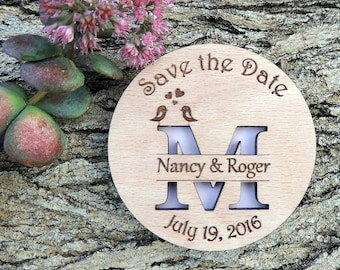 Custom Save The Date Magnet  for Kai