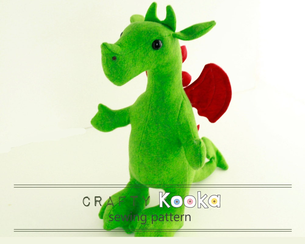 Dragon sewing pattern dragon plush sewing pattern dragon stuffed dragon sewing pattern dragon plush sewing pattern dragon stuffed animal pattern instant download pdf pattern sewing projects jeuxipadfo Image collections
