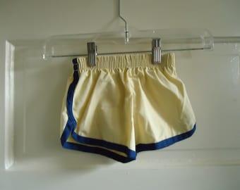 Vintage 70s Baby Swimtrunks TINY