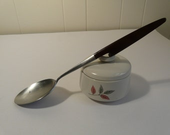 Serving spoon, EPIC, Canoe Muffin, fish hook handle, MCM