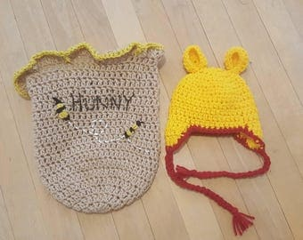 Honey Bear Hat & Cocoon