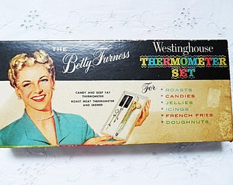 RETRO Kitchen ~ Westinghouse Thermometer Set ~ Complete & Unused ~.~