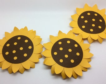 sunflower party, sunflower banner, flower banner, happy, country decor, photography, farm party, country wedding, sunflower cupcake toppers