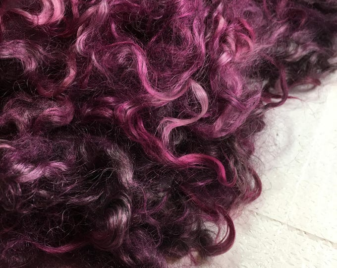 Kettledyed Adult Mohair (yearling grade), 01005