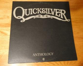 Vintage 1973 Quicksilver Messenger Service Anthology Vinyl Record Album Rock