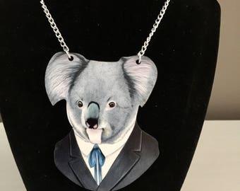 Cute Koala Necklace